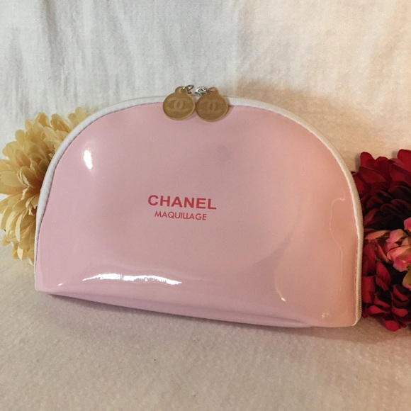 cd3c920ce48d86 CHANEL Handbags - New Authentic Chanel Makeup Cosmetic Bag Pink